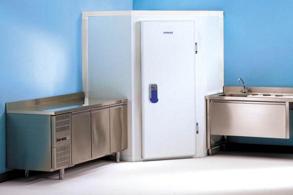 Unicorner mini chambres froides produits groupe seda for Temperature chambre froide